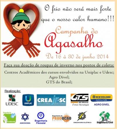 Campanha do Agasalho 2014 - Lages
