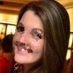 Foto com rosto de lado 3 - cristalizada