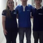 Novos Coordenadores Estaduais Eleitos: Ana Paula Sheidt (1º Suplente), Jean Carlo Hening (Titular), André de Matos Ribas (2º Suplente).