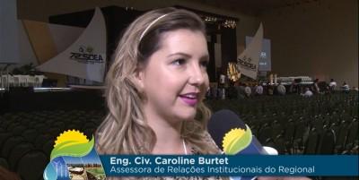 Entrevista Carol sobre nova logo