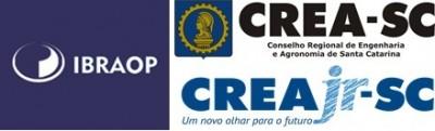 Logos IBRAOP-CREA-CREAjr novo padrão nacional