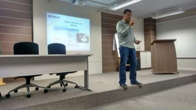 Apresentação institucional no SENAI – Itajaí