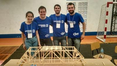Ponte finalizada - Equipe ESUCRI