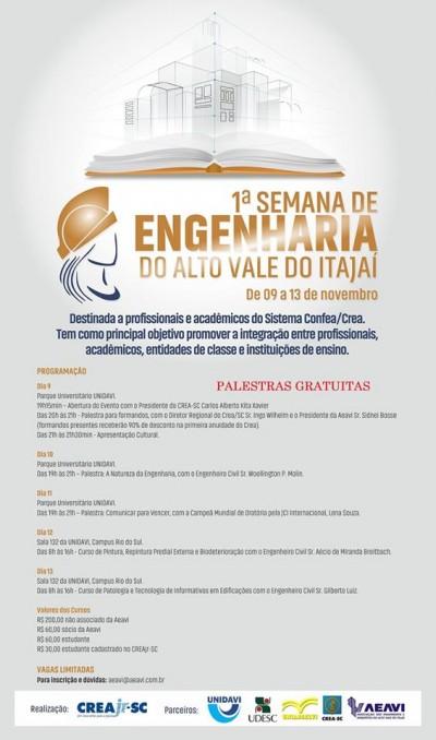 Semana Acadêmica novembro 2015 - programação 1